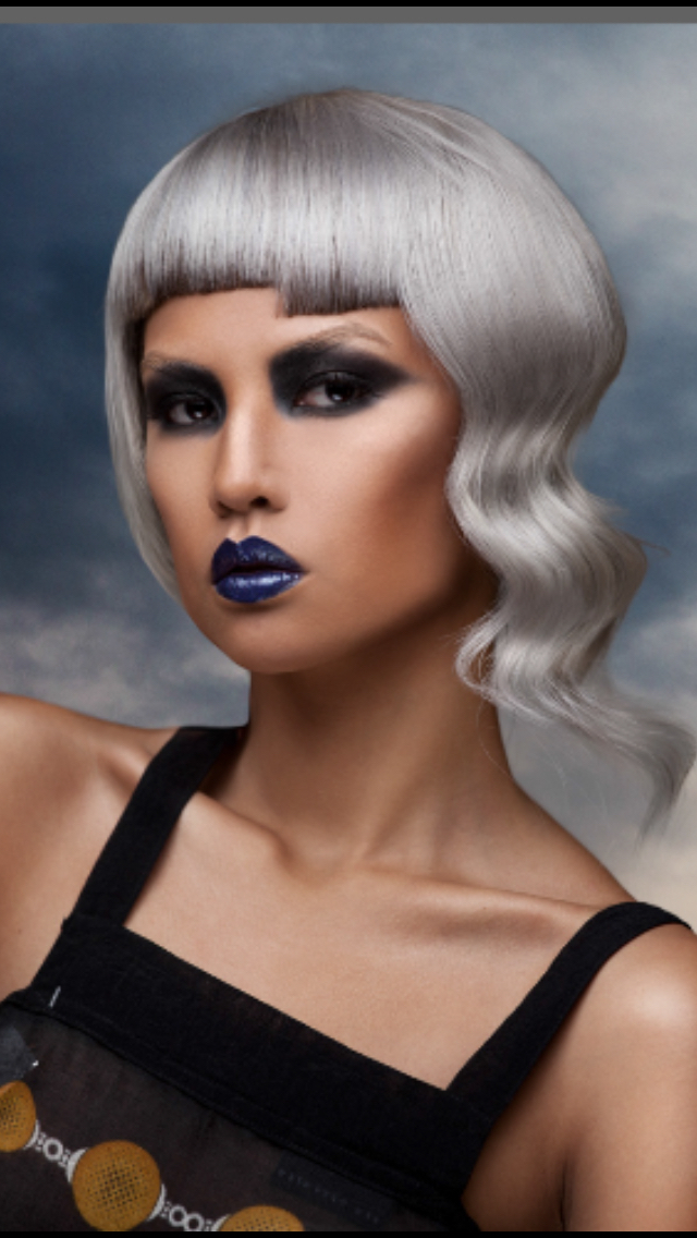 Hair daniel naumovski Color norm Wright Mua Melanie white