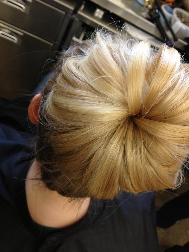 Sock Bun Inspired