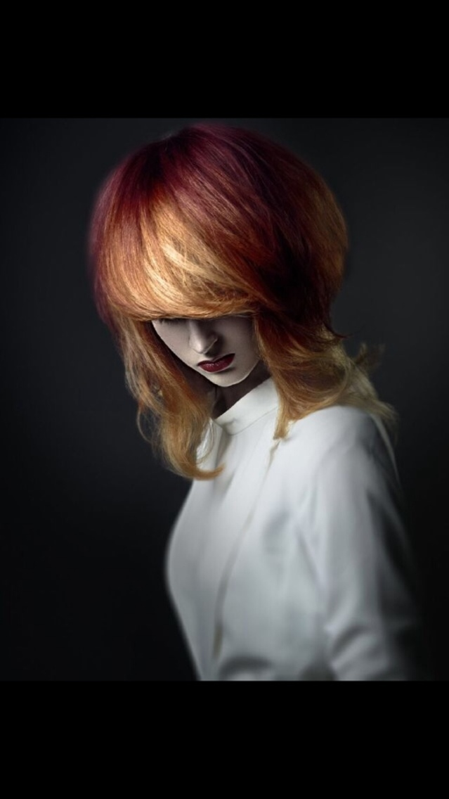Hair Paul Stafford Colour Aidan Bradley make up Sharon Watson photography Lee Mitchell