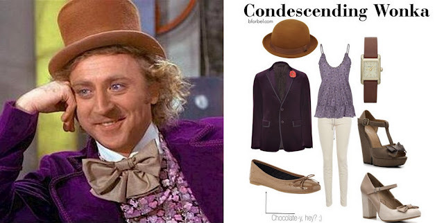 Condescending Wonka Outfit