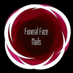 Funeral Face Nails