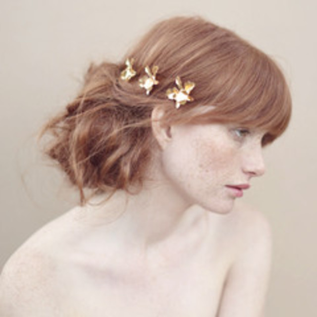 airy updo - photo by elizabeth messina for twigs and honey