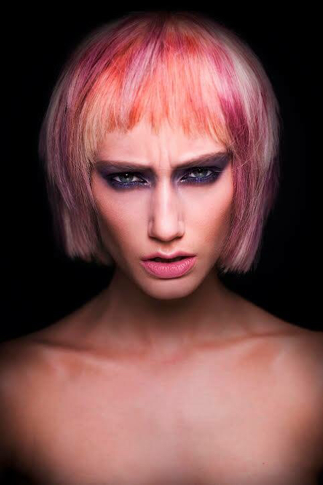 Hair- josh Angell -Salon-French revolver studio -photo- Calypso Paoli -makeup- gee gee -model - Holly pocket