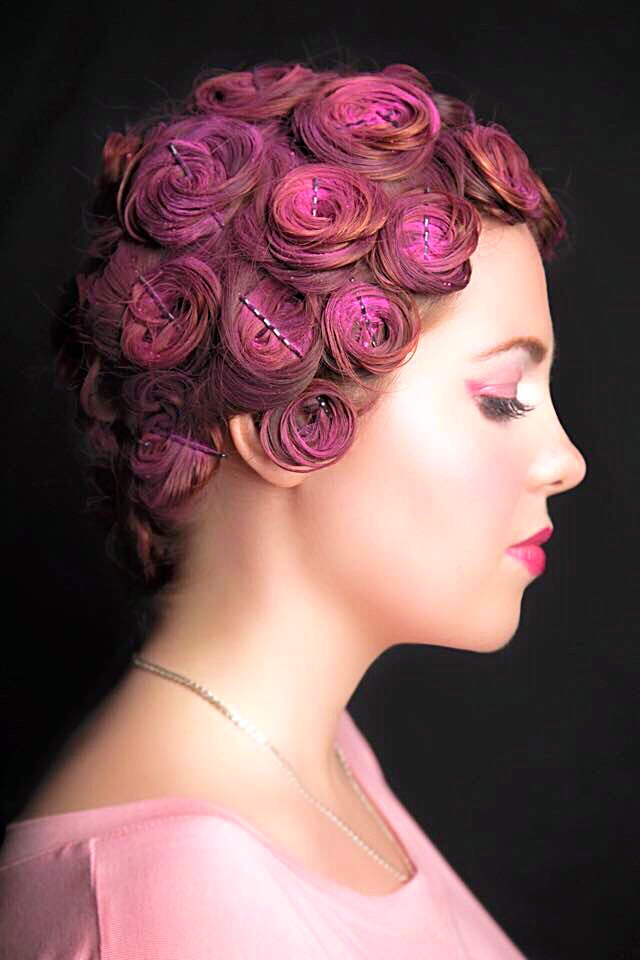 Hair roses Pop.Of.Colour