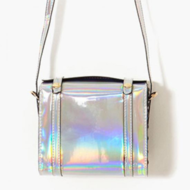 Nasty Gal – Hologram Satchel