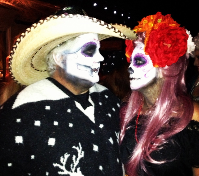 Dias De Los Muertos - Wig, Flowers and Make Up Hair By Deirdra