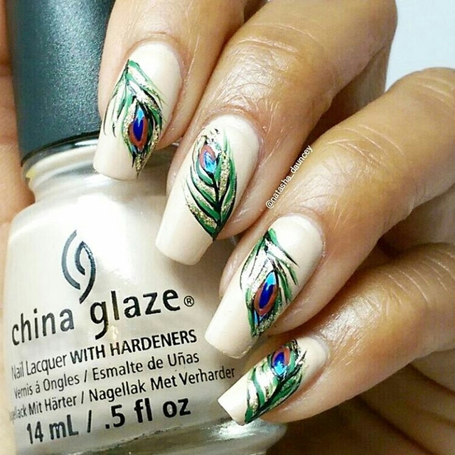 Freehand feathers