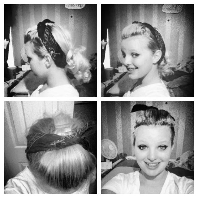 1950's Pinup Hair