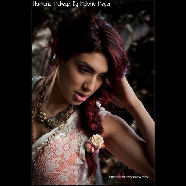 Melanie Meyer Hair: Mariah's Shoot with Meyer Photography