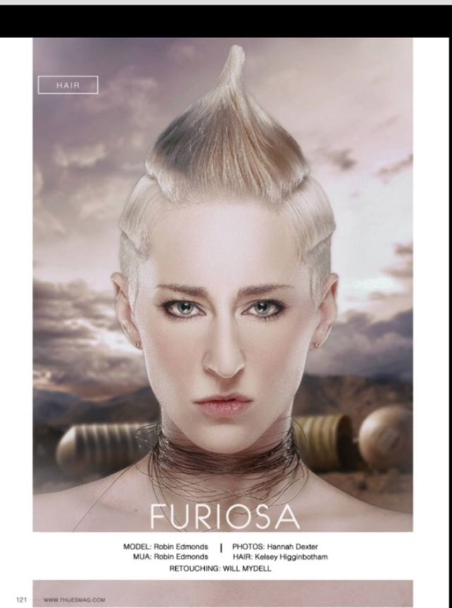 Furiosa Hair By: Kelsey Higginbotham HairByHigginbotham
