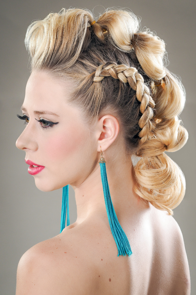 #lips, #mohawk, #ombre, #pullthroughbraid, #tassels
