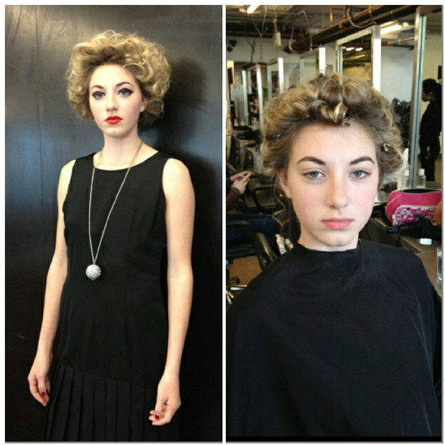 Aveda Catwalk for Water hair/makeup: Bianca and Mallary Crull