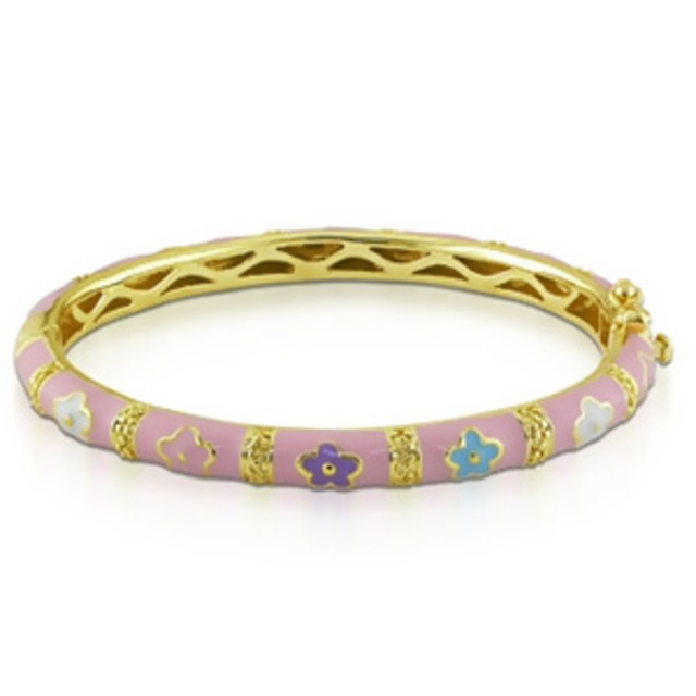 ICE Flower Baby Bangle
