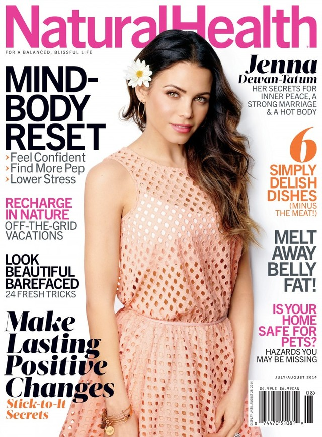 Jenna Dewan Tatum | Natural Health Magazine 2014
