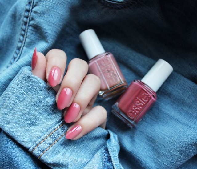 Lauren's List | essie x angora cardi & eternal optimist