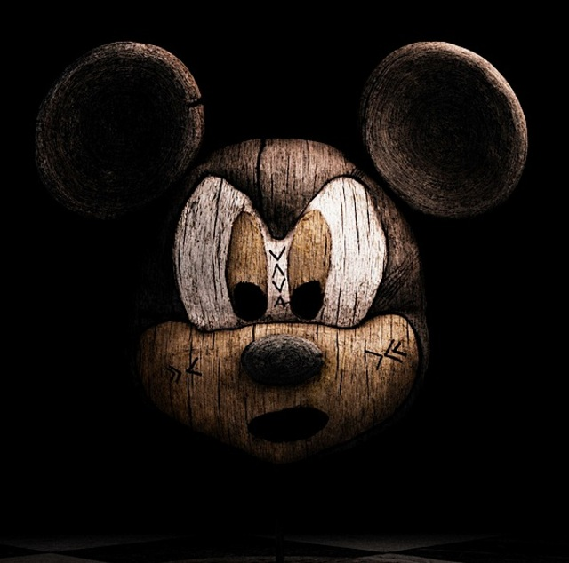 woodcarvedevilmickey