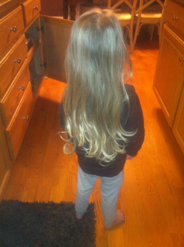 2 year old hair