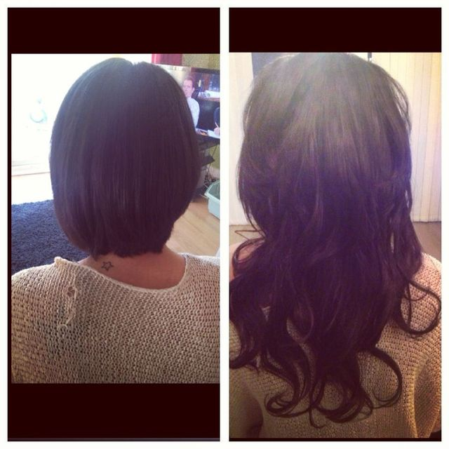 "20"" extra volume micro ring extensions"