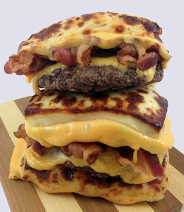 Double-Down-Burger