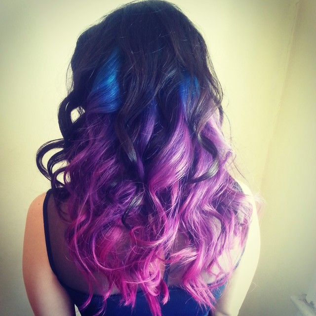 color and curls