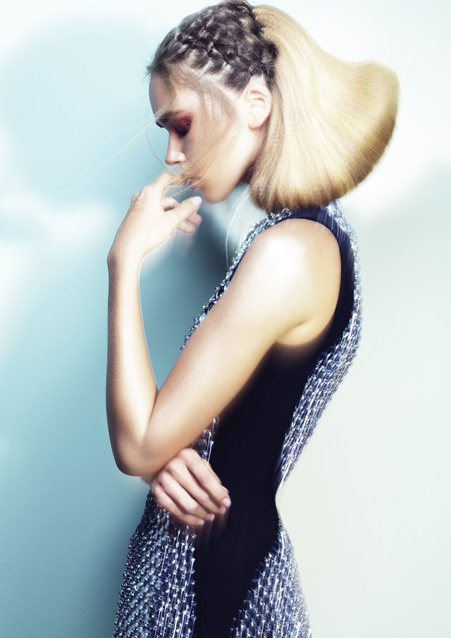 hair by leighanne regan for 'celestial' with ken oicton and ghd art team