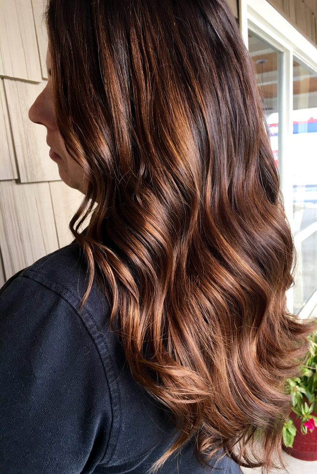 """For the love of balayage"" done at The Avenue Hair Studio And Spa in Saginaw, MI"