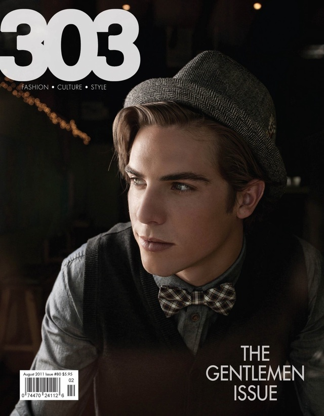 Men's cover 303 Magazine
