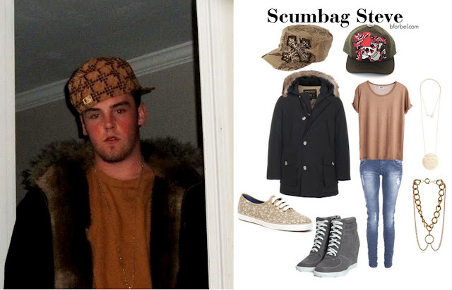 Scumbag Steve Outfit