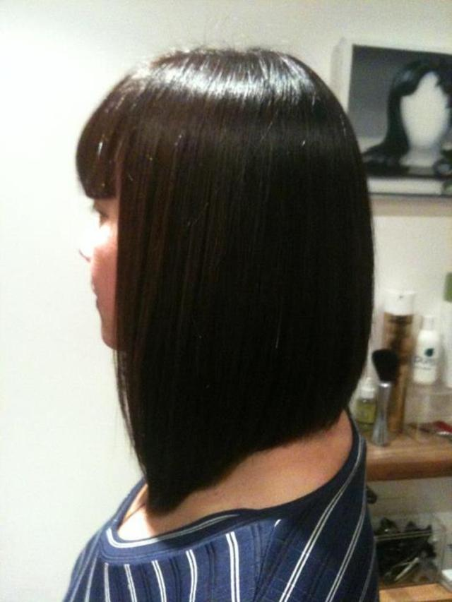 Salon work by Jade Bignell