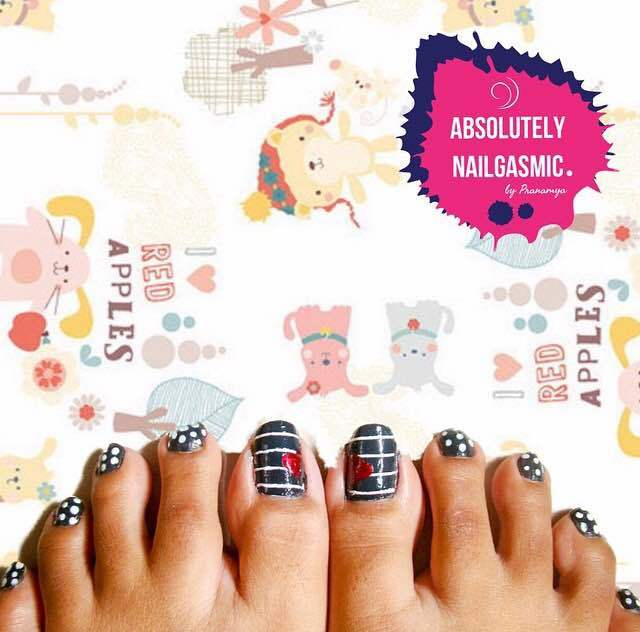 Toe nailnart