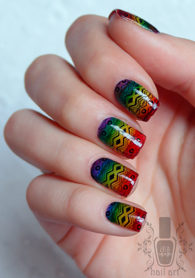tribal rainbow