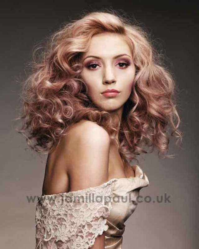 BHA Collection Blonde Curls