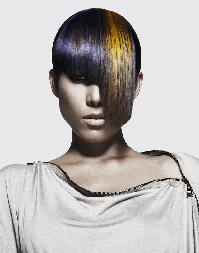 2012 North American Hairstylist Awards Entry/Win for Haircolorist of the Year 2