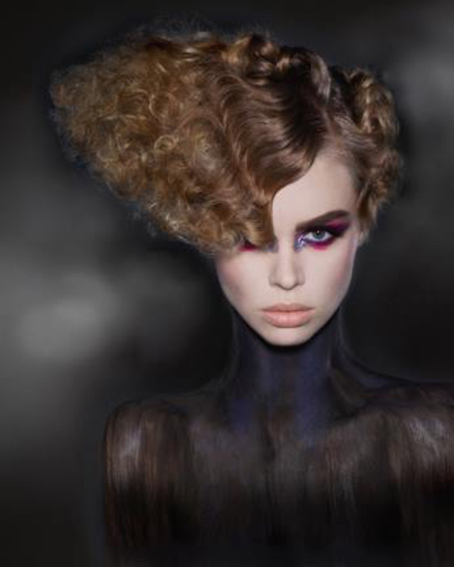 Hair by Amy Freudenberg Make-Up Lillian Rose Photography Sylvie Hyart Model Danielle Hunt
