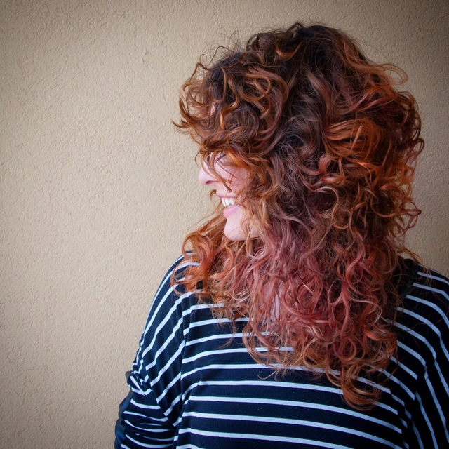 Color Curl #Pink #copper