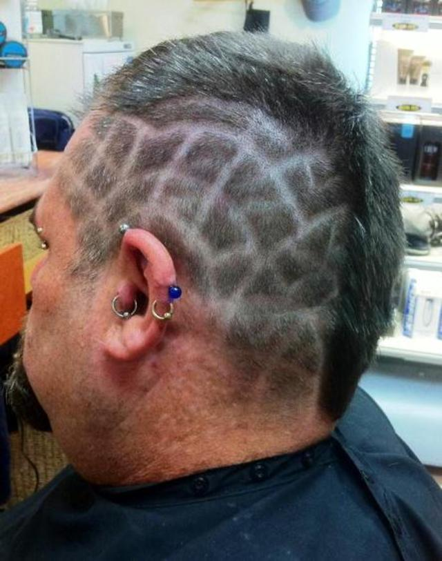 Hair Tattooed