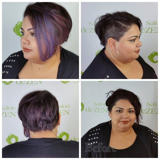 New cut & style with Kevin Murphy color bug for emphasis
