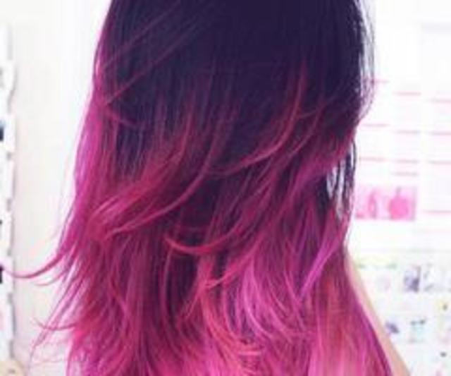 Electric Ombre