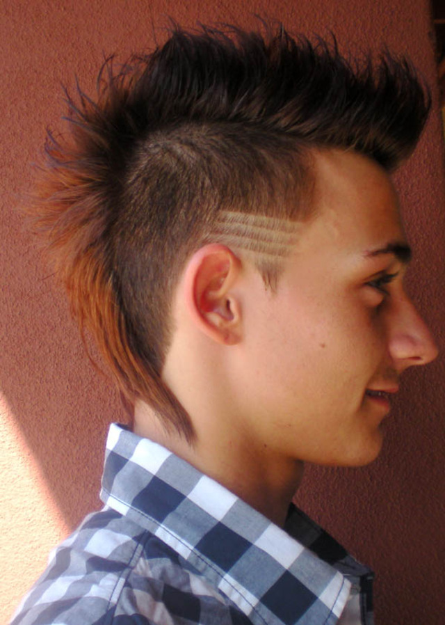 new school take on a classic mohawk