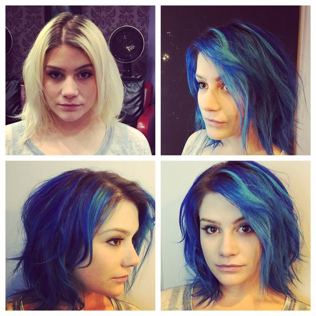 Before and after blues