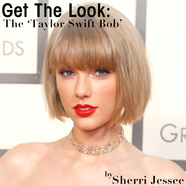 The Taylor Swift Bob Get The Look Bangstyle House Of Hair Inspiration