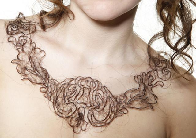 Arts Thread Kerry Howley Hair Necklace5