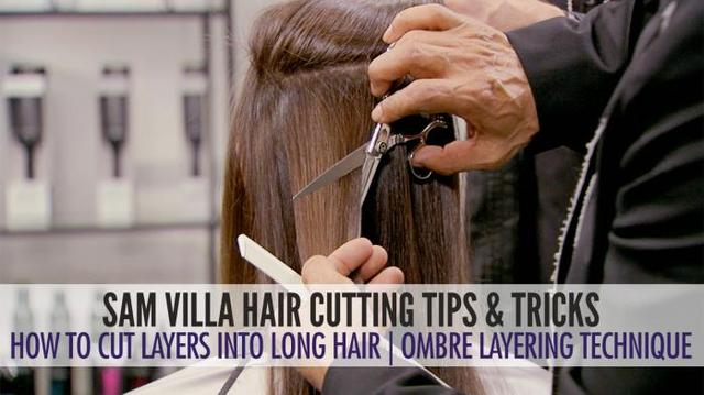 how to style your hair into a faux hawk how to cut layers into hair the ombr 233 layering 3232