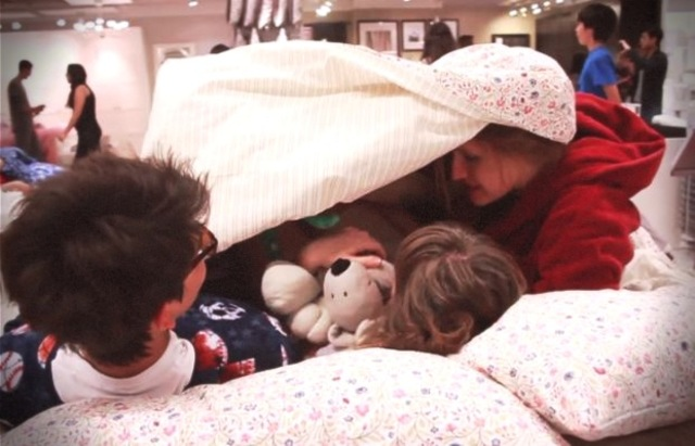 Ikea Slumber Party Flash Mob
