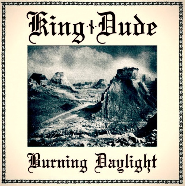 King DUde burning