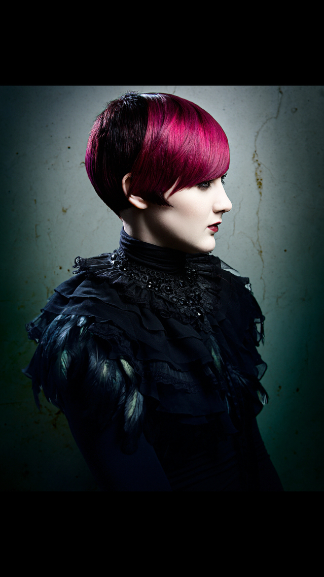 From Signature for Alfaparf  Hair by Paul Stafford  Colour Aidan Bradley  Photo Lee Mitchell