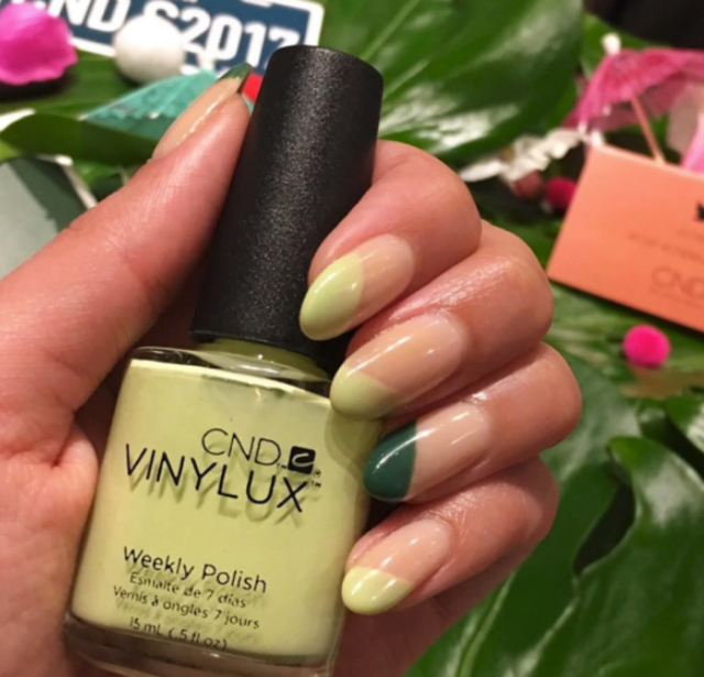 Inspired by the Pantone of the Year - Greenery.