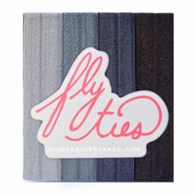 Fine Featherheads Guilty Pleasures-Fifty Shades Fly Ties
