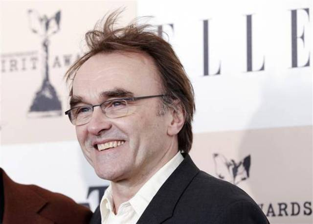 "Director of ""127 Hours"", Danny Boyle, arrives at the 2011 Film Independent Spirit Awards in Santa Monica, California"