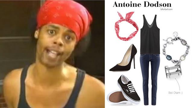 Antoine Dodson Outfit Collage